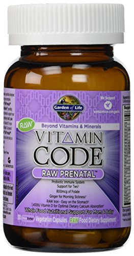 Garden of life vitamin code raw prenatal 180 capsules 11street malaysia nutrition vitamin for Garden of life vitamin code prenatal