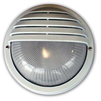 relco aussenleuchte 140s wandmontage e27 max 60 watt opal geh use rund weiss beleuchtung. Black Bedroom Furniture Sets. Home Design Ideas