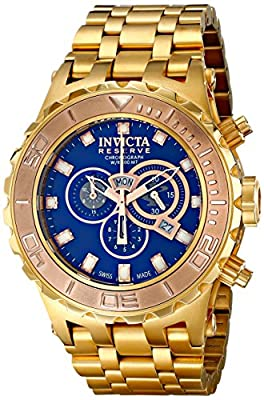 Invicta Men's 14033 Subaqua Analog Display Swiss Quartz Gold Watch