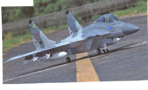Super Scale Mig-29 12ch 3d Vector Thrust Jet