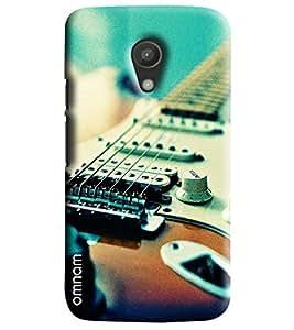 Omnam Guitar Wire Closeup Printed Designer Back Cover Case For Moto G2