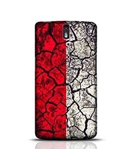 Stylebaby Phone Case Poland Flag On The Crack Soil Back Cover For OnePlus One Multicolor