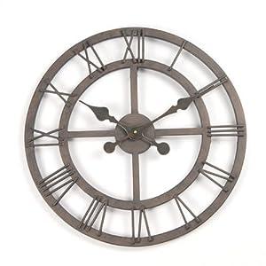 ambianzza horloge murale horloge murale metal cuisine maison. Black Bedroom Furniture Sets. Home Design Ideas