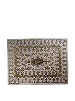 CarpeTrade Alfombra Deluxe Persian Vintage (Gris/Multicolor)