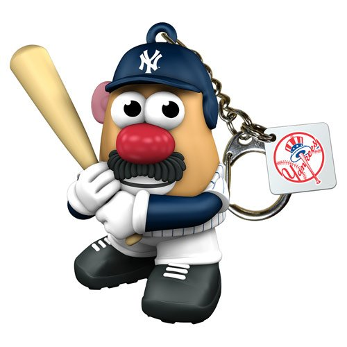 Mlb New York Yankees Mr Potato Head Keychain front-916616