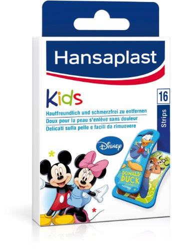 Hansaplast Junior Mickey, 5er Pack (5 x 16 Stück)