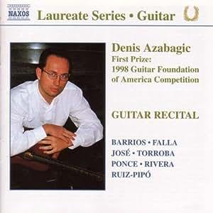 DENIS AZABAGIC : Guitar Recital
