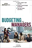 img - for Budgeting for Managers by Sid Kemp (2003-02-20) book / textbook / text book