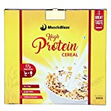 #2: MuscleBlaze High Protein Cereal- 500gms / 1.1 lb