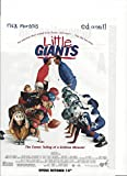 **PRINT AD** With Cast of Little Giants 1994 Movie Promo **PRINT AD**