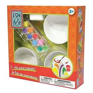 Family Games Bowls Porcelain Paint Kit