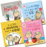 Lauren Child Charlie and Lola Collection - 4 Books RRP £27.96 (I Will Not Ever Never Eat a Tomato; I am Not Sleepy and I Will Not Go To Bed; I am Too Absolutely Small for School; Slightly Invisible)