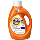 Tide Plus Bleach Alternative High Efficiency Liquid Laundry Detergent, Original, 92 Fluid Ounce