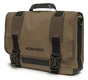 Mobile Edge Ultrabook Eco-Friendly Messenger Bag, Olive (MEUME9)
