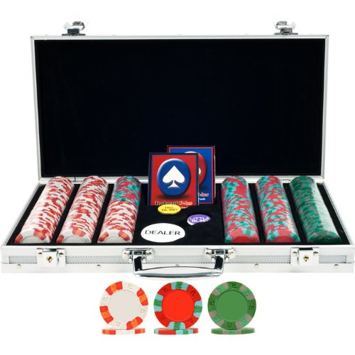Trademark 300 Nexgent Pro Classic Poker Chips with Aluminum Case