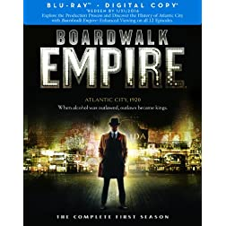 Boardwalk Empire: Complete First Season [Blu-ray]
