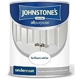 Johnstones No Ordinary Paint Oil Based All Purpose Undercoat Brilliant White 2.5L