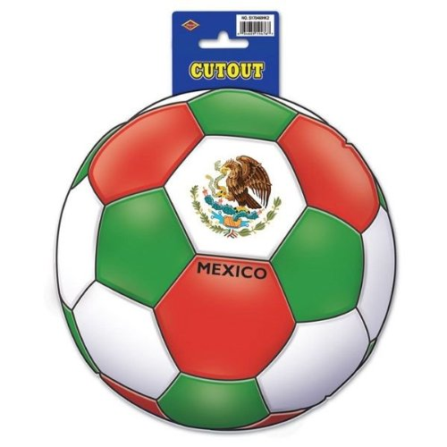 Beistle Cutout, 10-Inch, Mexico