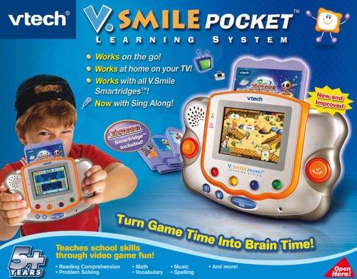 Vtech v smile pocket learning system - Console vtech vsmile pocket ...