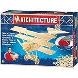 Matchitecture Fokker DR1 Triplane Matchstick Kit