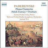 パデレフスキ:ピアノ協奏曲 イ短調/ポーランド幻想曲