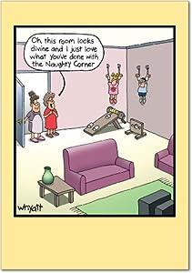 Amazon.com : Room Looks Divine Mother's Day Humor Card