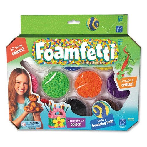 Educational Insights Foamfetti 10 Pack - 1
