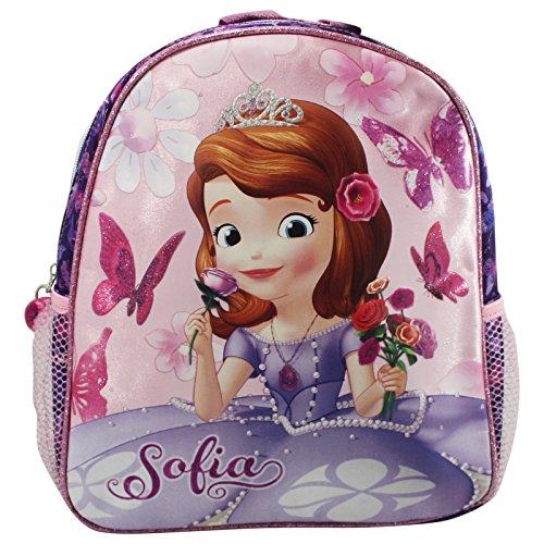 Disney Principessa Sofia Zaino Bambina Asilo Cestino Portapranzo Scuola