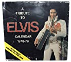 1977 Boxcar Enterprises Elvis Presley Tribute 2 Year Calendar