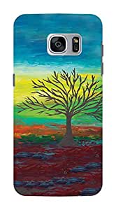 Koveru Back Cover Case for Samsung Galaxy S7 - Art of Tree