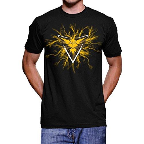 Pokemon-Go-Team-Yellow-Instinct-Thunder-Camiseta