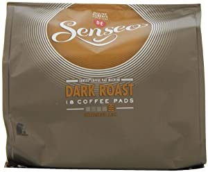 Shop for Douwe Egberts Senseo Dark Roast Coffee 18 Pads (Pack of 5, Total 90 Pads) by Grocerycentre