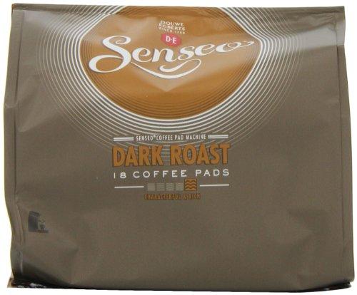 Douwe Egberts Senseo Dark Roast Coffee 18 Pods (Pack of 5, Total 90 Pods)