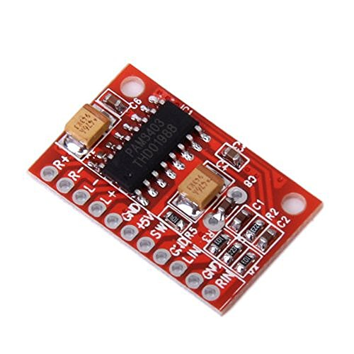 Foxnovo-High-Power-Super-Mini-Digital-Audioverstrker-Board-Platine-rot