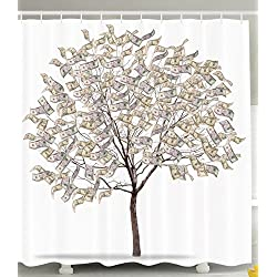 Tree of Life Shower Curtain Dollar Tree Gifts for Dad for Him Wouldnt It Be Funny If Therapy Attorney Counselor Friendship Gifts Funny Decor Black White Bathroom Accessories