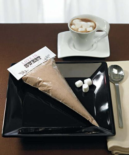 Clear Cellophane Cone Shaped Bags W9080 Quantity of 100