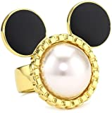 Disney Couture Pearl Mickey Ring