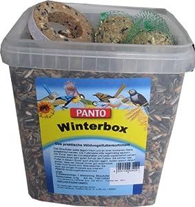 Panto Winterbox (Streufutter, 2 Knödel, 1 Winterbox), 3er Pack (3 x 3.2 kg)