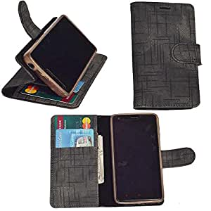 R&A Pu Leather Wallet Flip Case Cover With Card & ID Slots & Magnetic Closure For Nokia Lumia 920