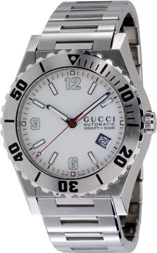 GUCCI Men's YA115212 Pantheon Stainless Steel Watch