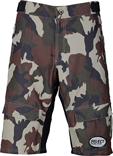 select-pro-comfort-mtb-mountain-bike-baggy-camo-shorts-with-lycra-coolmax-padded-liner-dark-brown-s3