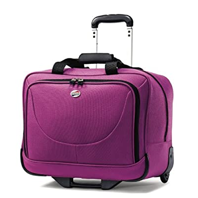 American Tourister Luggage Splash Wheeled Boarding Bag, Solar Rose, 17 Inch