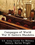 img - for Campaigns of World War II: Eastern Mandates book / textbook / text book