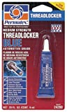 Permatex 24200-12PK Blue Medium Strength Threadlocker - 6 ml, Pack of 12