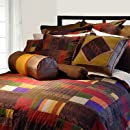 Pointehaven 9 Piece 100 Percent Cotton Luxury Bedding Ensemble Marrakesh Twin