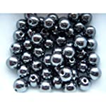 Lot 50 Perles Shamballa H�matite 10 mm