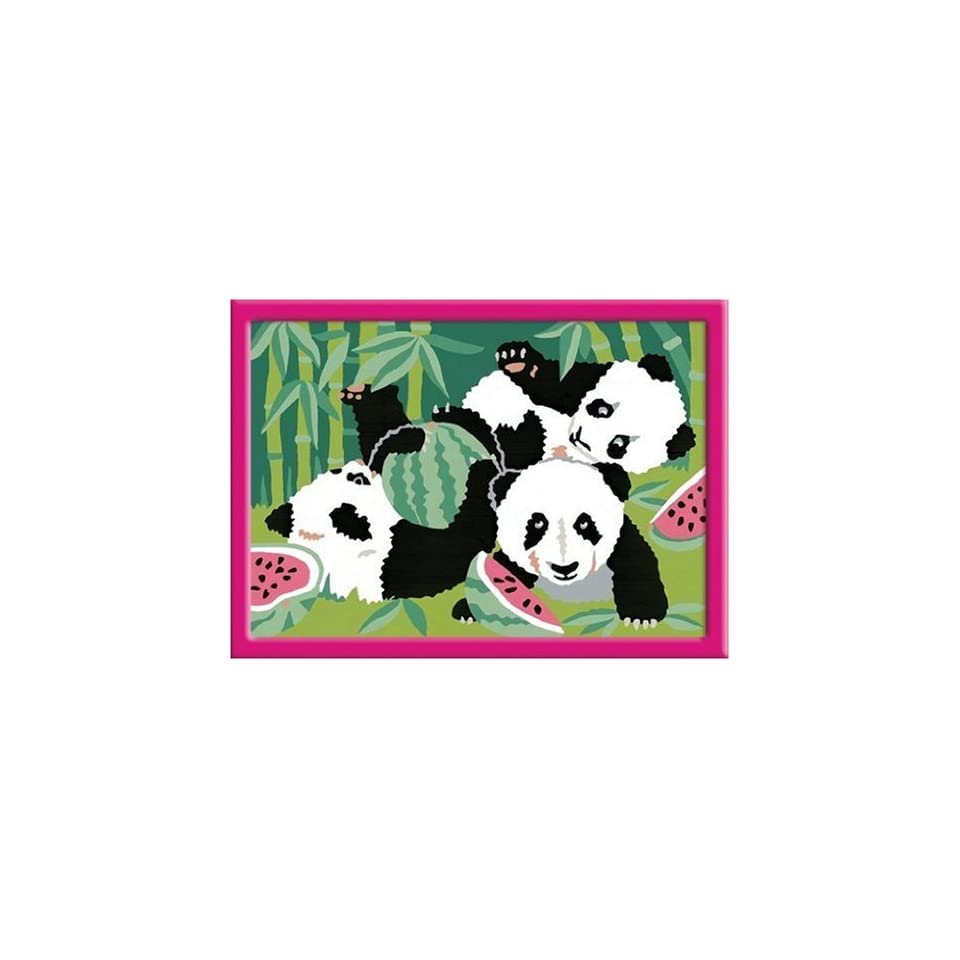 Ravensburger 27869 Pandabärchen Malen Nach Zahlen 13 X 18 Cm On