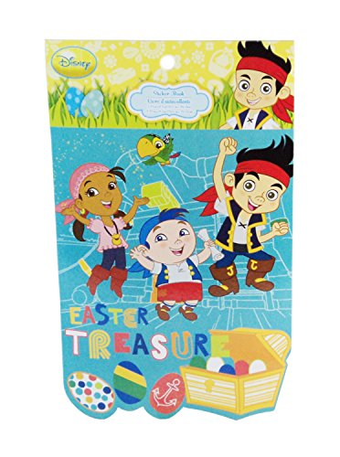 Disney Jake & the Neverland Pirates Set Sail for Easter Fun Easter Treasure Sticker Book
