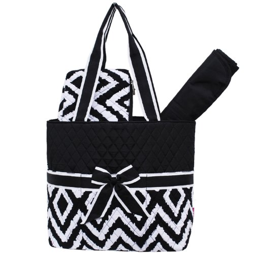 Black And White Diaper Bags