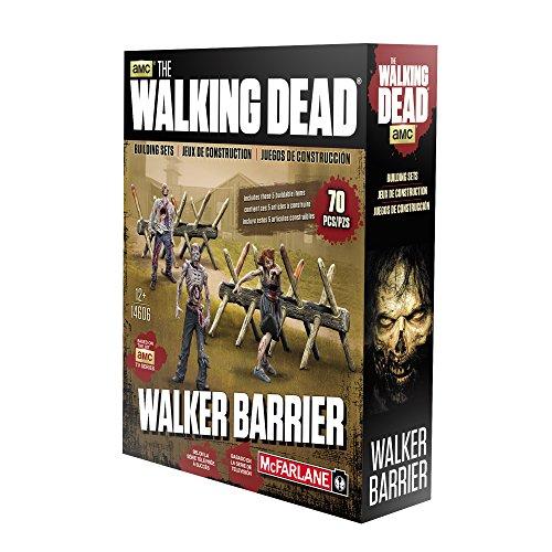 McFarlane Toys Construction Sets- The Walking Dead TV Walker Barrier Accessory